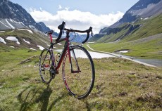 Specialized Tarmac SL4, Albula Pass Switzerland