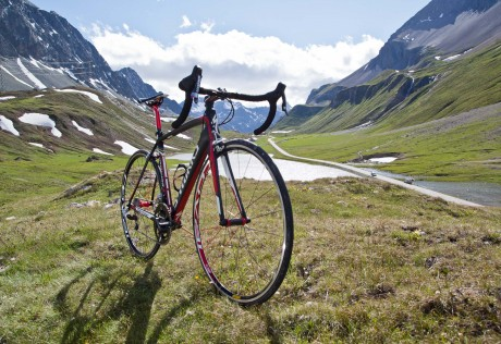 Specialized Tarmac SL4, Albula Pass Switzerland for Specialized