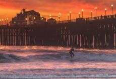 Twilight Surf, Carlsbad CA