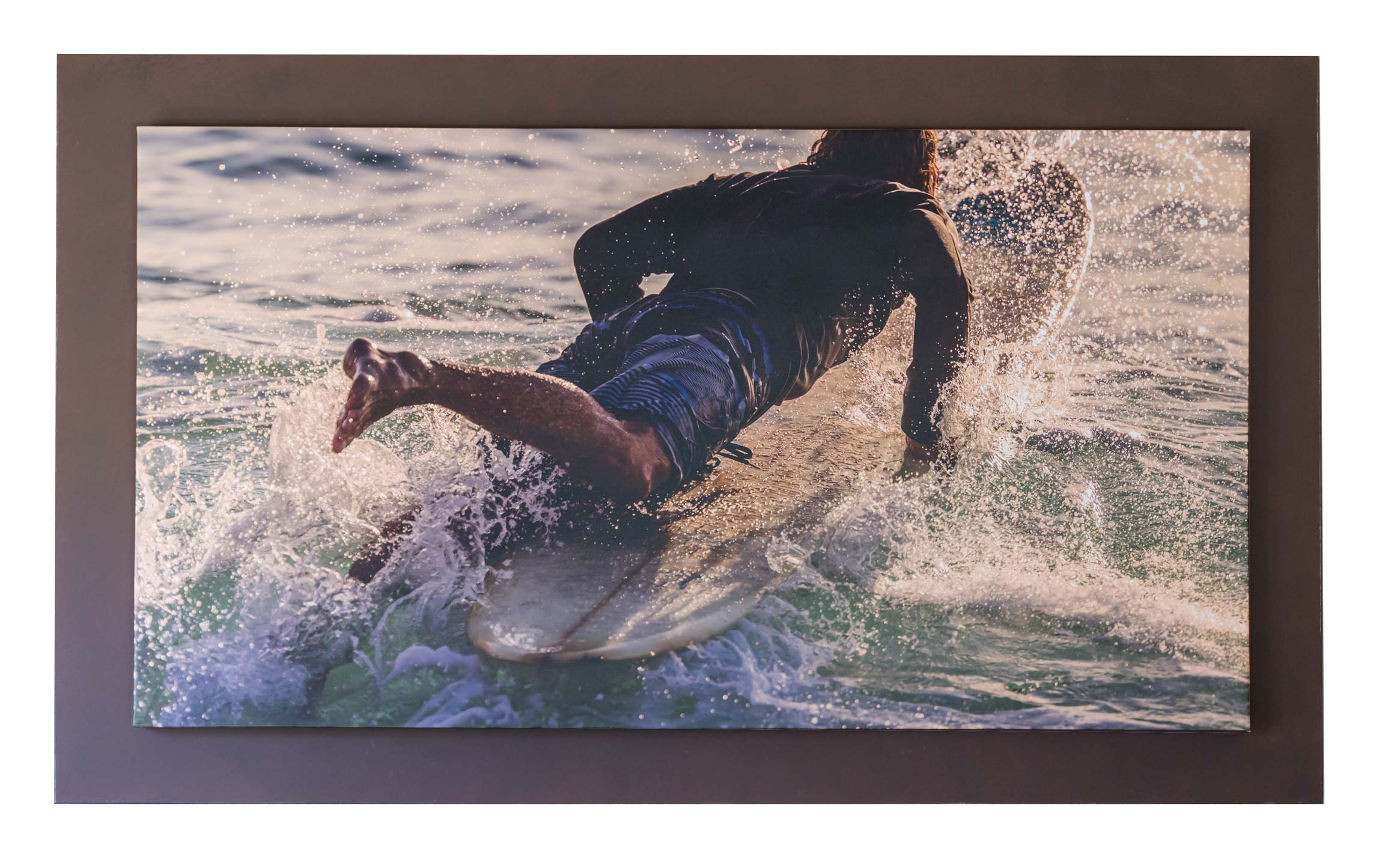 "VeloDramatic 71"" x 38"" canvas gallery wrap"